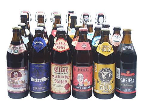 Bierwohl I Geschenkidee I Das ganz Große I Bierset mit diversen Biersorten aus Franken und Umgebung...