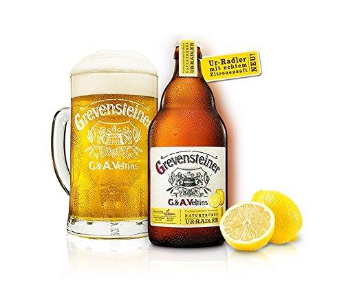 16 Flaschen Grevensteiner Ur Radler C & A. Veltins a 0,5l Bier 2,5% vol. Zitrone inc. 1.28€...