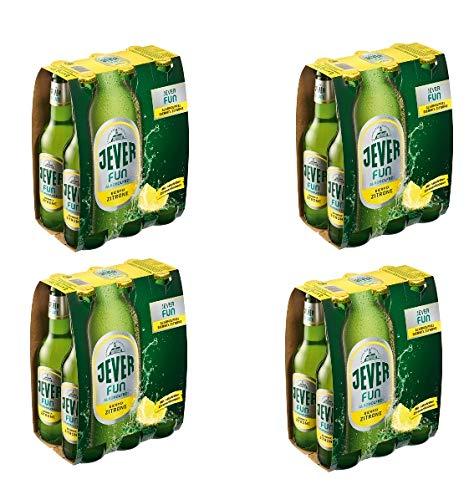 24 Flaschen a 0,33 L Jever Fun Zitrone inclusiv 1,92€ MEHRWEG Pfand Orginal Alkoholfrei bier Mix...