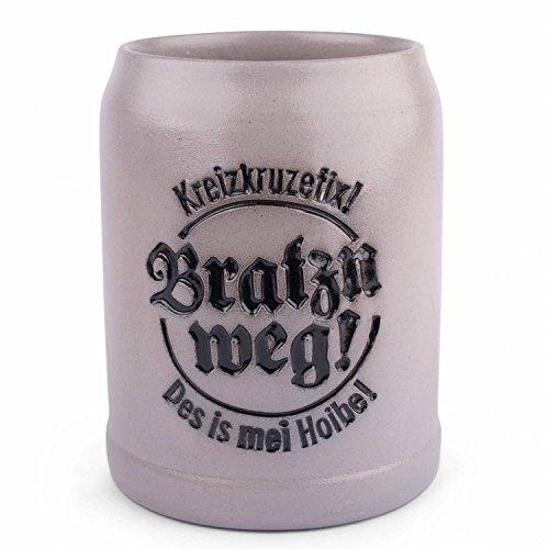 Bayerischer Steinkrug'Bratzn weg!'