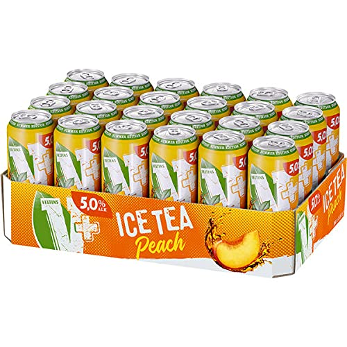 24 Dosen Veltins V + Ice tea a 0,5L Liter Bier inc. 6.00€ EINWEG Pfand Limeted edition 5% Vol.