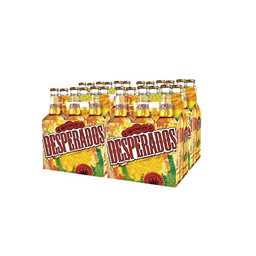 Bier Tequila Desperados 24x33cl (Pack 24 Flaschen)