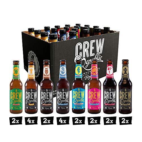 CREW REPUBLIC® Craft Bier Mix Probierset | World Beer Awards Gewinner 2020 | Ideales Geschenk für...