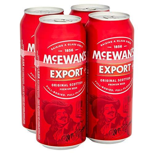 McEwan's Original Scottish Export Ale 4x500ml Alc. 4.5% Vol. - eines der bekanntesten schottischen...