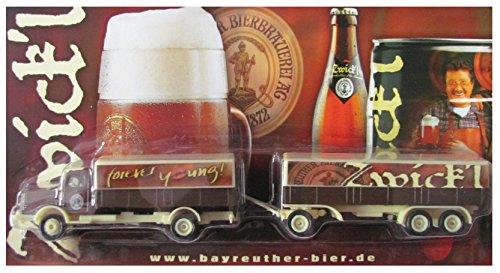 Bayreuther Bierbrauerei Nr.12 - Zwick´l, Forever Young - Man Büssing 7500S - Hängerzug Oldie