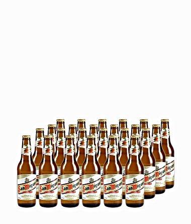 San Miguel Especial Cerveza Bier - 4.8% Vol Sparpaket (24 x 0.33l)