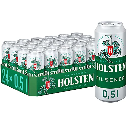 Holsten Pilsener Pils - Bier, Dose Einweg (24 x 0.5 l)