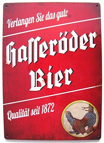 Hasseröder - Verlangen Sie das Gute Bier - Blechschild 20 x 30 cm