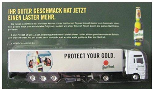 Pilsner Urquell Nr.12 - Protect Your Gold - Man TG - Sattelzug