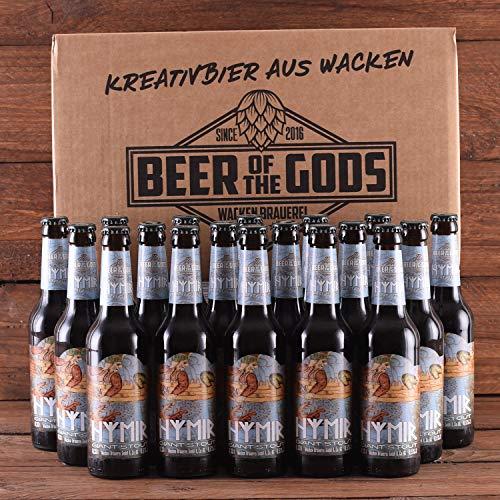 WACKEN BRAUEREI Imperial Stout Craft Beer Box 18 x 0,33 l Flasche | HYMIR | Viking Craftbeer Set...
