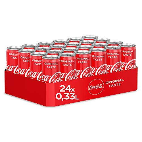 Coca-Cola Classic, Pure Erfrischung mit unverwechselbarem Coke Geschmack in stylischem Kultdesign,...