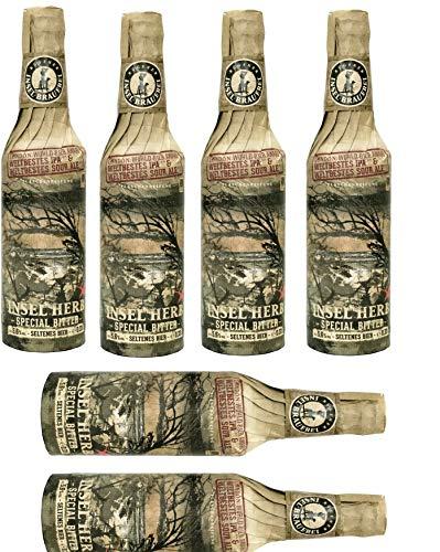 6 Flaschen Rügener Insel Brauerei Insel Herb Flaschenreifung inc. 0,48€ MEHRWEG Pfand 5,6% Vol.