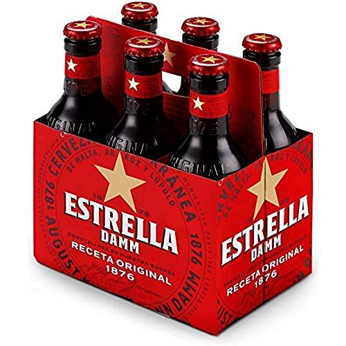 Bier Estrella Damm 6x25cl (Pack 6 Flaschen)