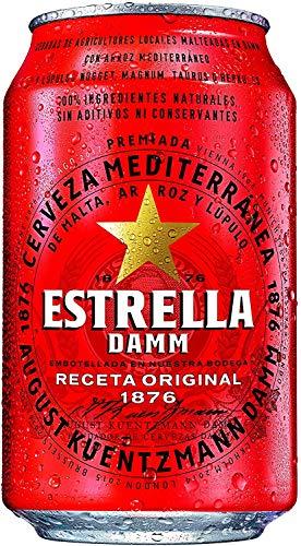 Damm Estrella - helles Bier - 33cl