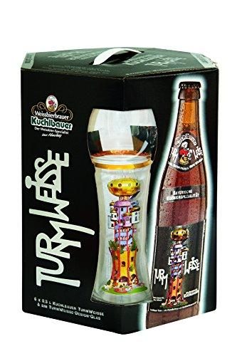 Kuchlbauer Sevenpack Geschenkbox Weissbier 6x0,5l und 1 Glas