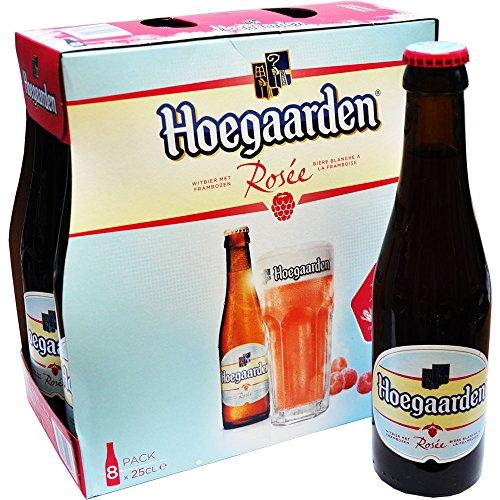 Belgisches Bier Hoegaarden Rosee 8x250ml. 3,0%Vol Weißbier