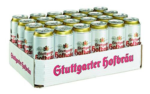 Stuttgarter Hofbräu Pilsner, EINWEG (24 x 0.5 l)
