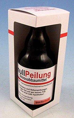 quacksalberei Witzige Bierflasche'Null Peilung', Bier 0,33 l