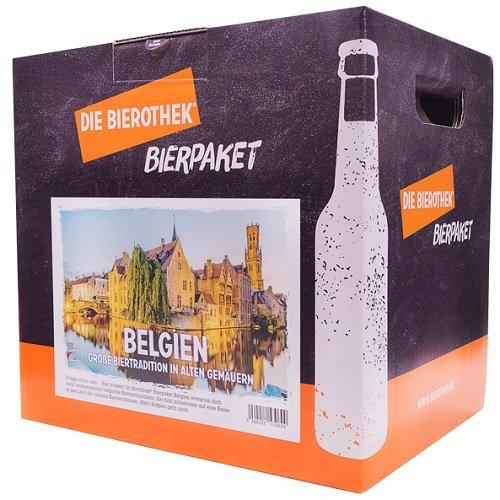 Bierothek® Bierpaket Belgien (12 Flaschen Bier   außergewöhnliches Geschenk)