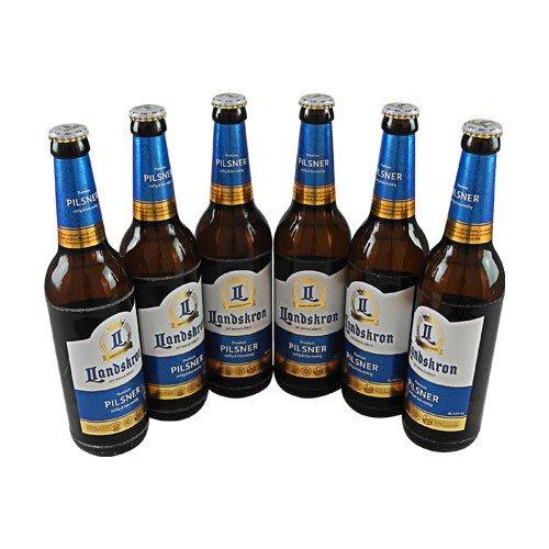 Landskron Premium Pilsner (6 Flaschen à 0,5 l / 4,8% vol.)