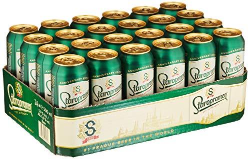 Staropramen Premium Staropramen Dosenbier Palette EINWEG (24 x 0.5 l) Pils Tschechien Premium Inkl....