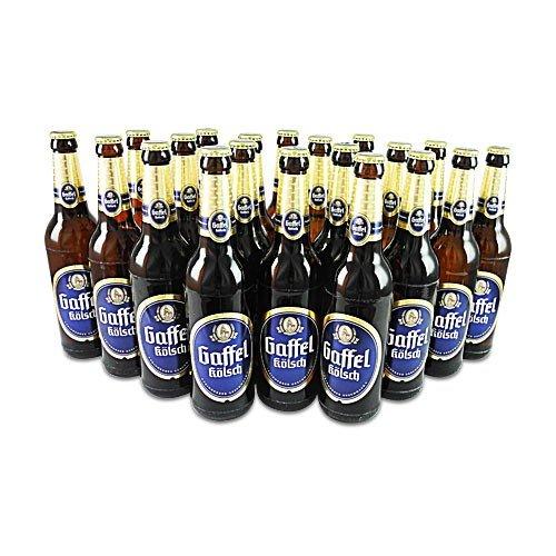 Gaffel Kölsch (20 Flaschen à 0,5 l / 4,8% vol.) inc. MEHRWEGPFAND