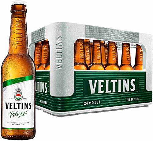 24 x Veltins Pilsener 0,33 Liter 4,8% vol. Originalkiste MEHRWEG