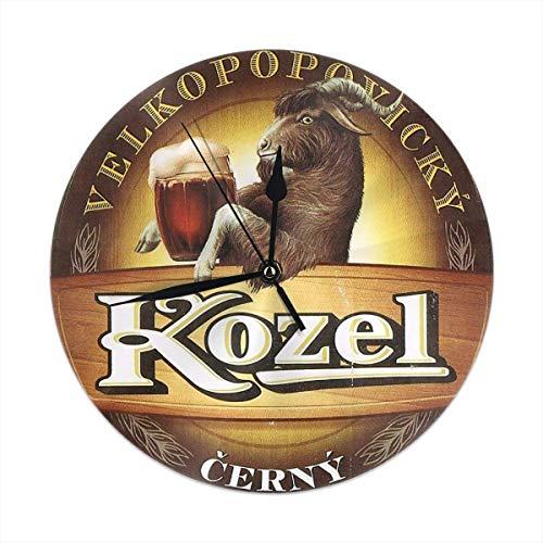 gardenia store Kozel Bier Round Home Decor Wanduhr 9,84'