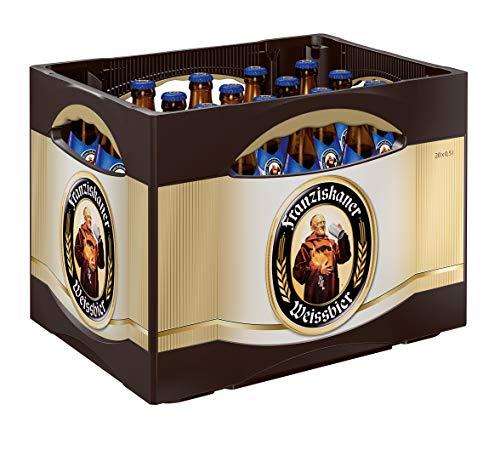 Franziskaner Alkoholfrei Weizenbier MEHRWEG (20 x 0.5 l)