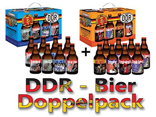 DDR Bier im 8er Geschenkekarton Doppelpack 1 + 3