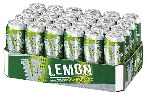 V+ Lemon Biermischgetränk, EINWEG (24 x 0.5 l Dose)