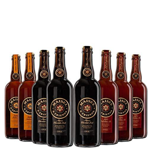 Maisel and Friends Signature Paket - 8 Flaschen 0,75l in einem Paket - echter Craft Beer Genuss