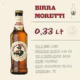 L'Autentica Birra Lager Moretti 5er-Vorteilspack (5x330 ml) inkl. Pfand