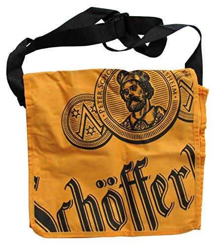 Schöfferhofer Brauerei - Citybag - Umhängetasche - Tasche - 34 x 30 x 6 cm aufgeklappt