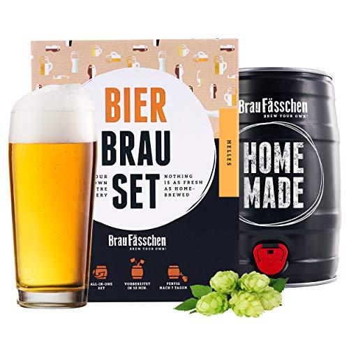 braufaesschen | Bierbrauset zum selber Brauen | Helles im 5L Fass | Leckeres Bier In 7 Tagen gebraut...