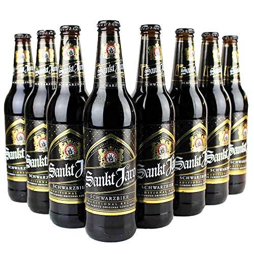 12er Bierset - Sankt Jaro SCHWARZBIER - 12 x 0,5l - aus Tschechien - von.BierPost.com