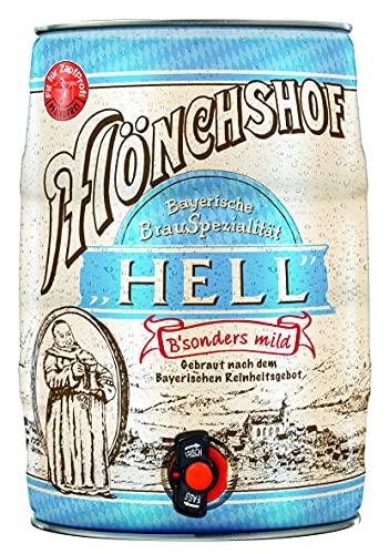 Mönchshof Hell Bayerische Spezialitäten Fass 5 Liter