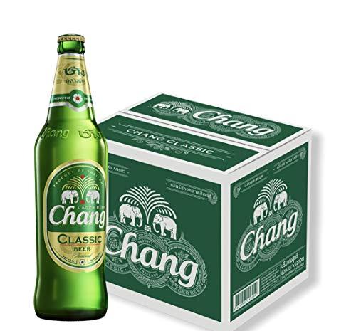 12 Flaschen Chang Classic Bigbottle 620ml Thailand`s Lager Beer