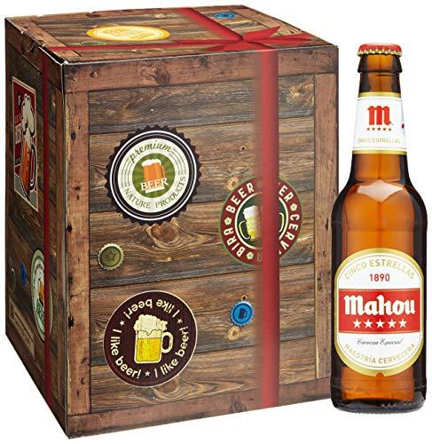 Geschenkideen für Männer BIERE DER WELT Biergeschenke Set + gratis Geschenk Karten +...