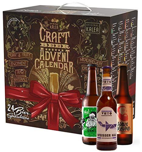 KALEA Craft Beer Adventskalender, DER Bieradventskalender für Craft Bier Fans mit limitierten...