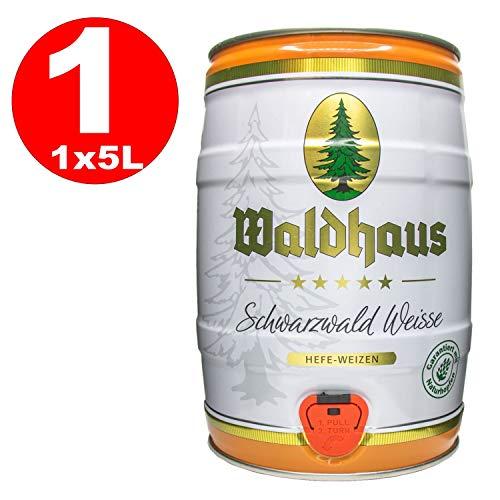 Waldhaus Schwarzwald Weisse 5l Fass/Dose