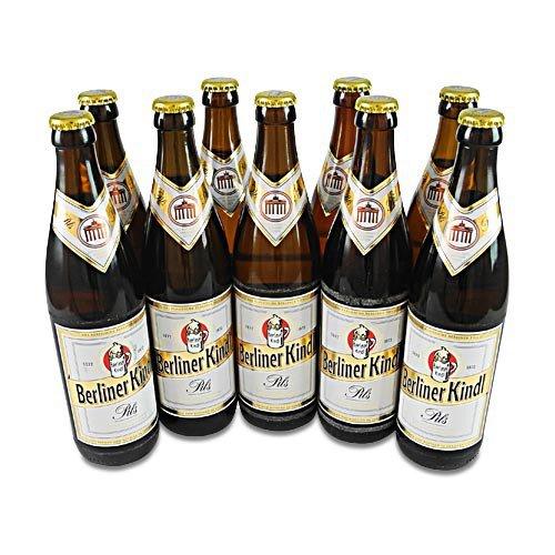 Berliner Kindl Pils (9 Flaschen à 0,5 l / 4,8% vol.)