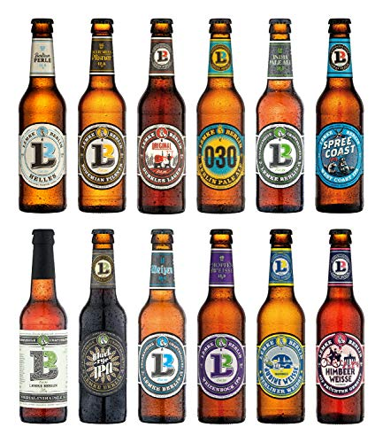 LEMKE Berlin'Lemkes Bierwelt' | Mix-Paket Craft Bier, Bier-Mix, Bier Box Craft Beer (12 x 0,33l)