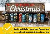 12 Biers of Christmas von Kalea, 12 x 0,5 l deutsche Bierspezialitäten, Geschenksidee zu...