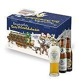 Bavariashop Bier Adventskalender, Weihnachtliche Geschenkidee 2019, exklusives Verkostungsglas...