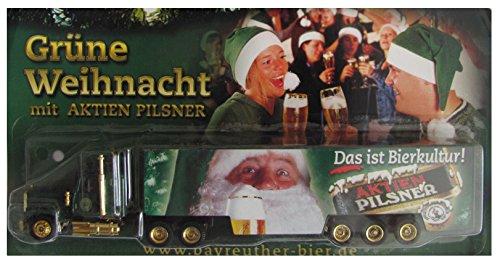 Bayreuther Bierbrauerei Nr.15 - Grüne Weihnacht - Ford 9000 - US Sattelzug