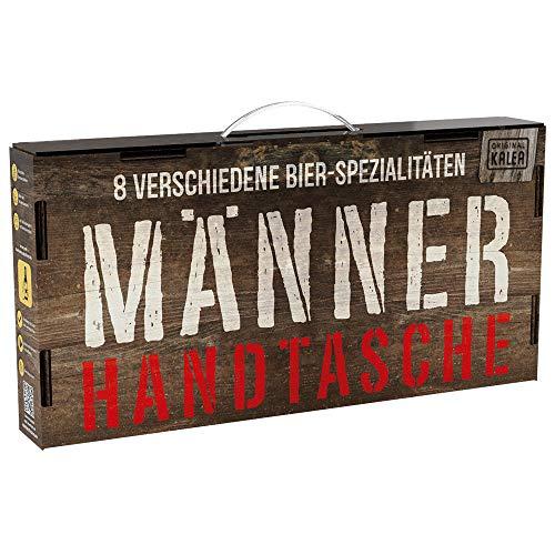 Kalea Männerhandtasche   Geschenk-Idee   Bier-Spezialitäten   mit Tragegriff  ...