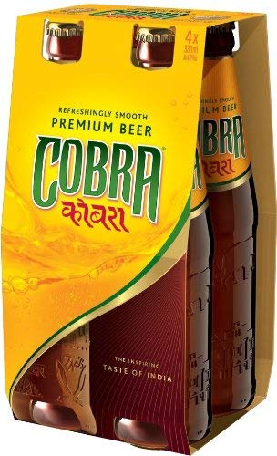 Cobra Bier Indien Bier 4 x 0,33 Liter