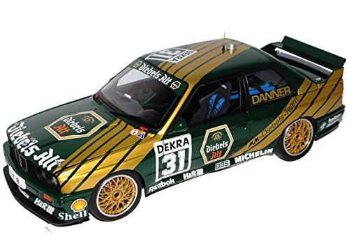 B-M-W 3er M3 E30 DTM 1991 Diebels Alt Danner Nr 31 1982-1994 89148 1/18 AutoArt Modell Auto