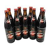 Lausitzer Porter Schwarzes (Schwarzbier / 9 Flaschen à 0,5 l / 4,4 % vol.) inc. 0.72€ MEHRWEG...